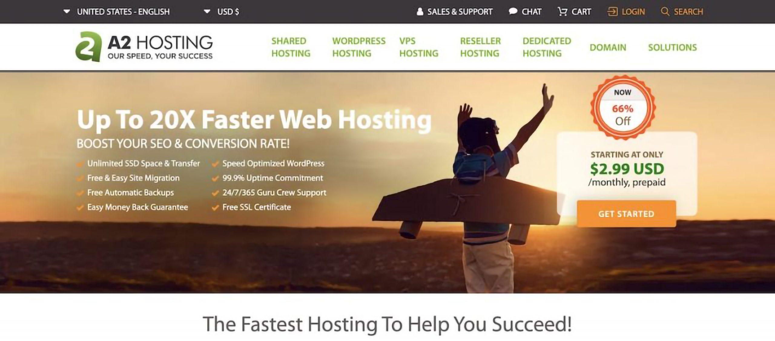 A2 Web Hosting Review